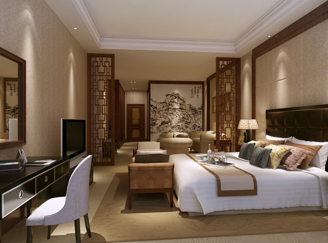 Model Bedroom collection living room and bedroom collection 3d model max