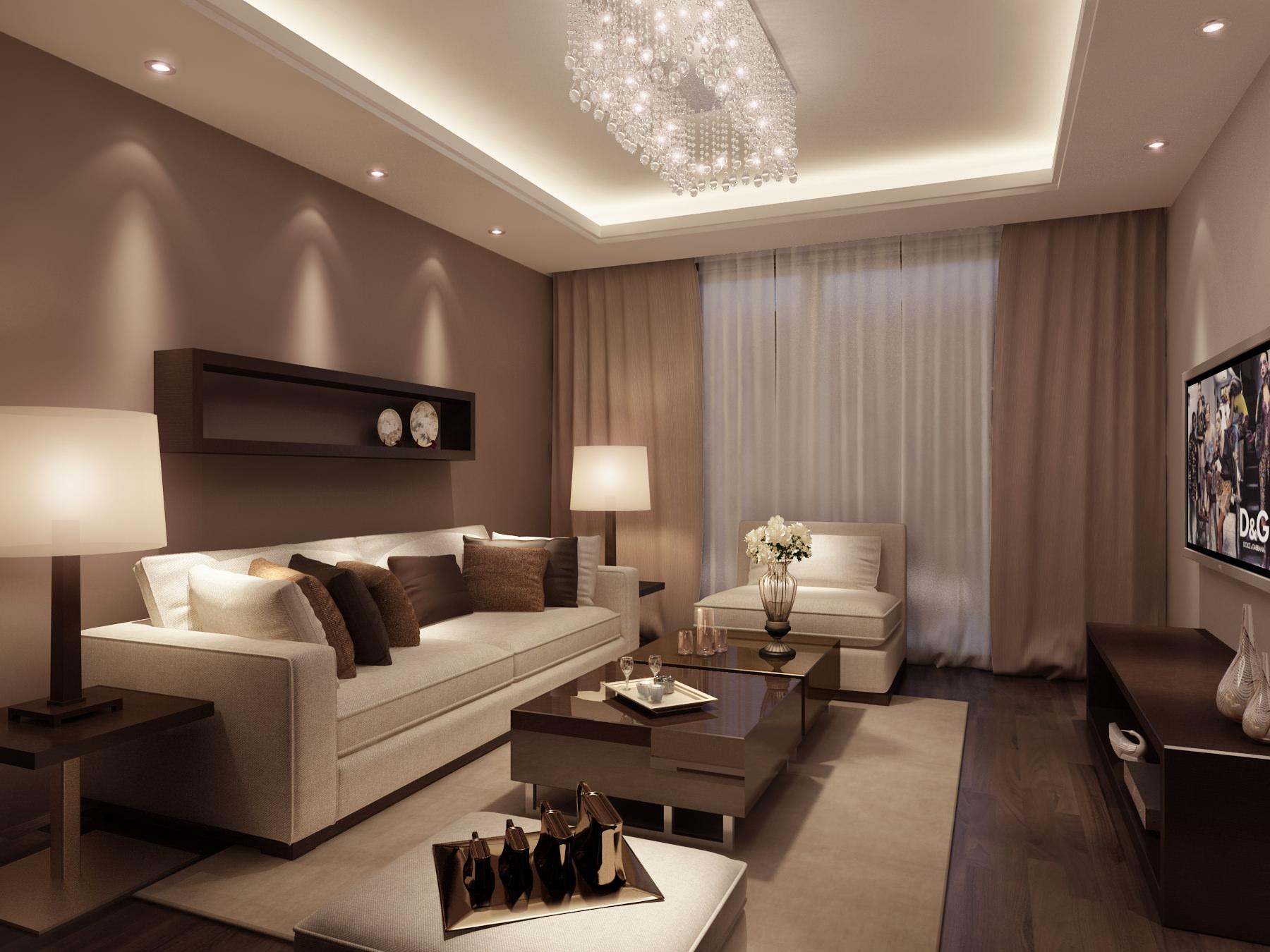 Model Interior Design Living Room - palesten.com -