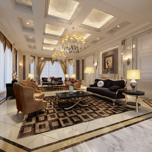 Living room and bedroom collection 3d modern bedroom for Model interior design living room