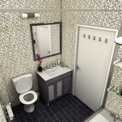 Bathroom Model bathroom 3d model toothbrushes | cgtrader