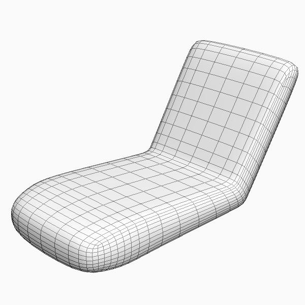 ... Wicker Chairs Ottoman 3d Model Max Obj 3ds Fbx Mtl Unitypackage 4 ...