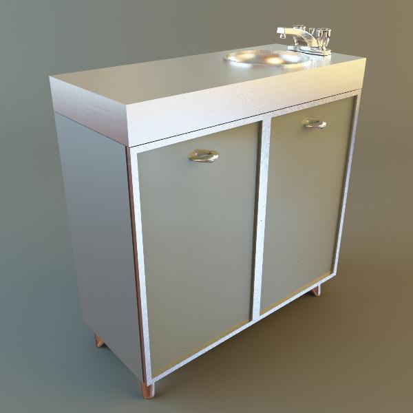 Medical Office Sink Cabinet Model Max 2