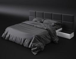 3D model Bed sicilia premium