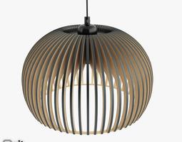 atto 5000 pendant light by secto design 3d