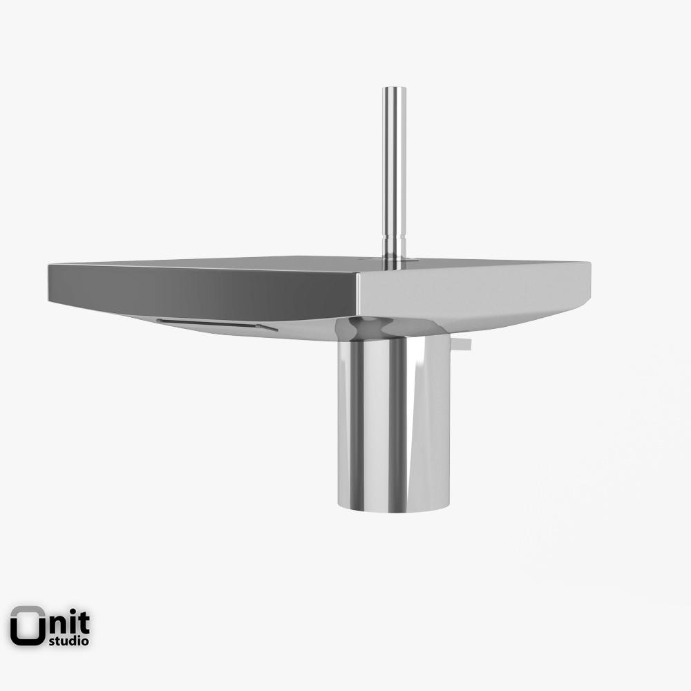 3D model Hansgrohe Axor Starck X washbasin tap | CGTrader