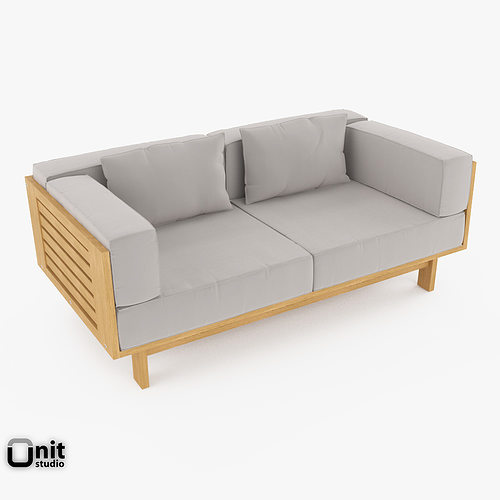 3d model skargaarden falsterbo outdoor sofa cgtrader