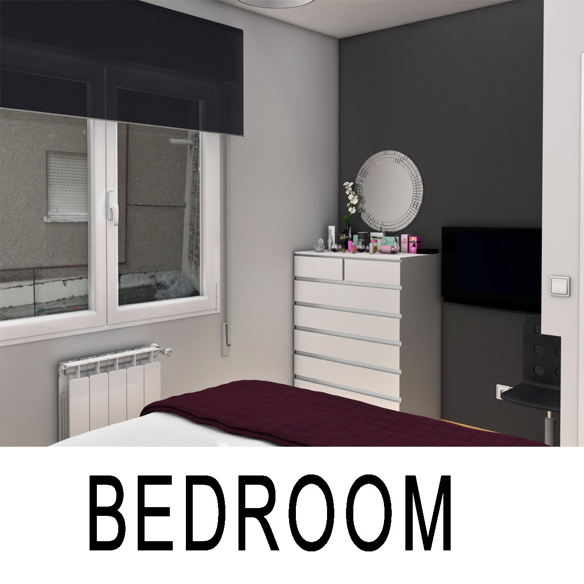 bedroom 3d model max obj 3ds fbx c4d ma mb