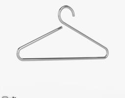 Happy clothes hanger by D-Tec 3D model accessories