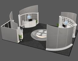 3d model exhibit booth 009