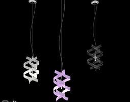 3D model Pendant light Astro MetalLux Set