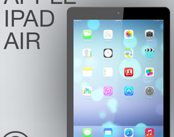 Apple iPad Air 3D