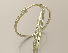 3D print model earrings rings