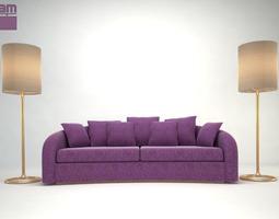 Armani sofa Esther 3D