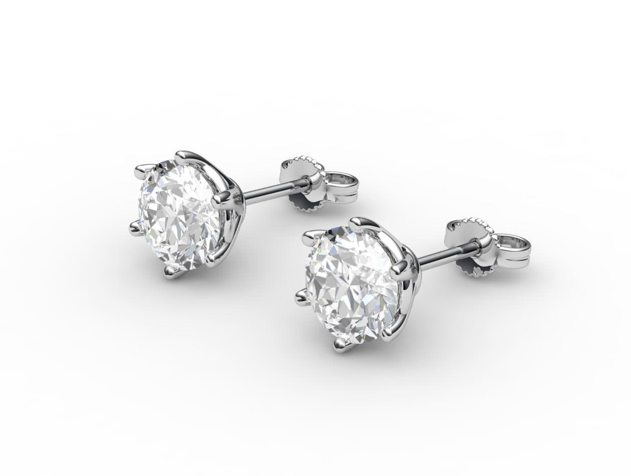 Tiffany Diamond Stud Earrings Sale