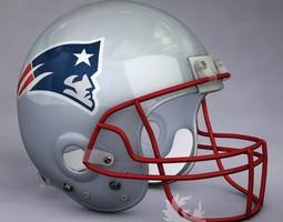 3d new england patriots official game helmet