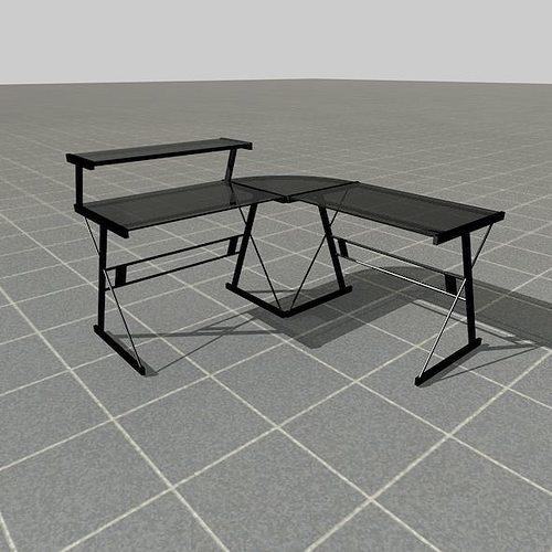Scale Model Desk 3d Model Fbx C4d Ma Mb Wrl Wrz