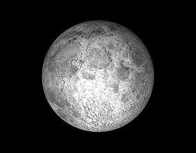 The Moon 3D asset