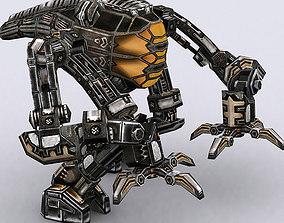 animated 3DRT - Mech robot engineer - 04