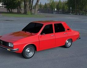 Renault 12 - Dacia 1300 HDRI 3D model