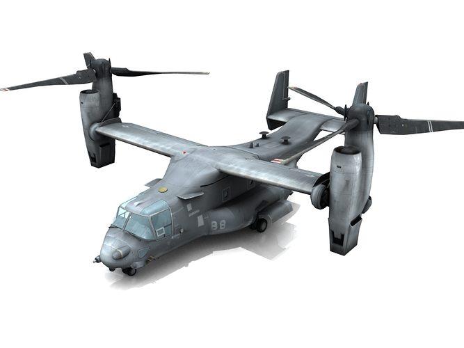 V 22 osprey 3d model cgtrader Best 3d models