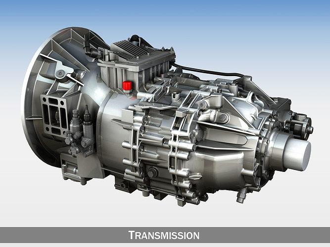 transmission 3d model obj mtl 3ds fbx c4d lwo lw lws 1