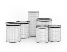 3D model Spice Containers