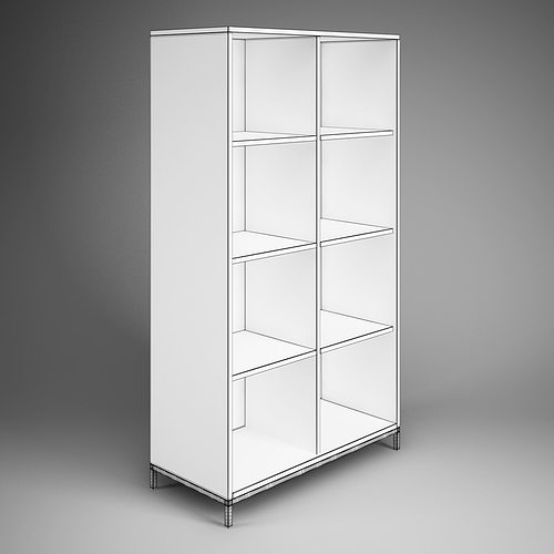 3d Office Storage Cubby Shelf Unit 09 Cgtrader