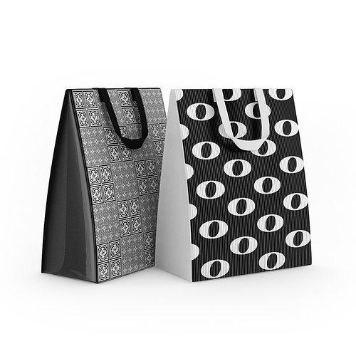 shopping bags 3d model max obj fbx c4d 1