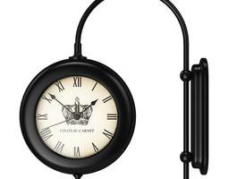 Classic Wall Clock 2 3D model
