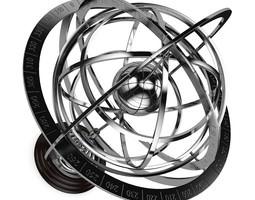 Armillary Sphere 3D Model