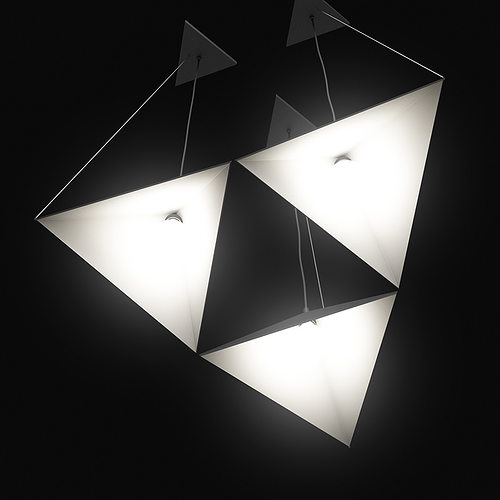 ceiling lamp 3d model max obj mtl fbx c4d 1
