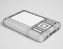 3D model MP3 Player 30