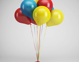 3D model Party Baloons 07