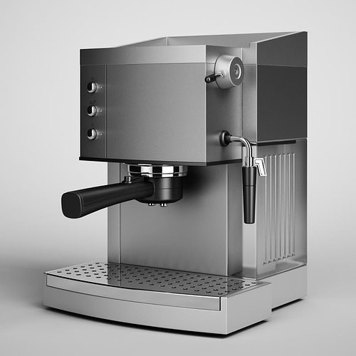 3d Coffee Maker 05 Cgtrader