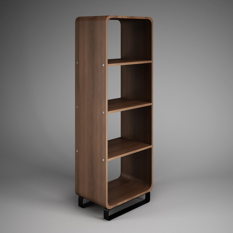 Merveilleux Office Shelf Unit 32 3d Model Max Obj Mtl Fbx C4d 1 ...