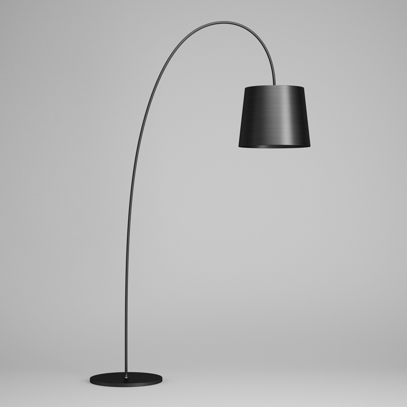 Black Floor Lamp 43 3d Model Max Obj Fbx C4d