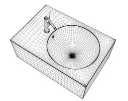Square Bidet 3D