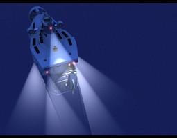 DSV Alvin 3D
