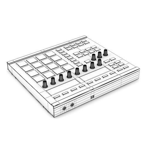 pad controller 1 3d model max obj fbx c4d mtl 1