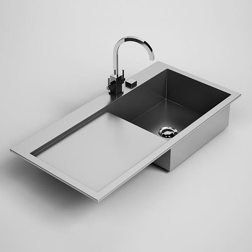 Charmant Kitchen Sink 24 3D Model