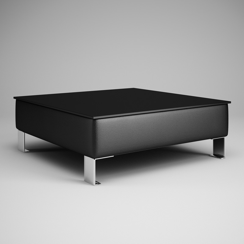 Black Living Room Table 28 3D | CGTrader