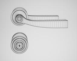 details 3D model CGAxis Door Handle