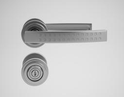 CGAxis Door Handle 3D