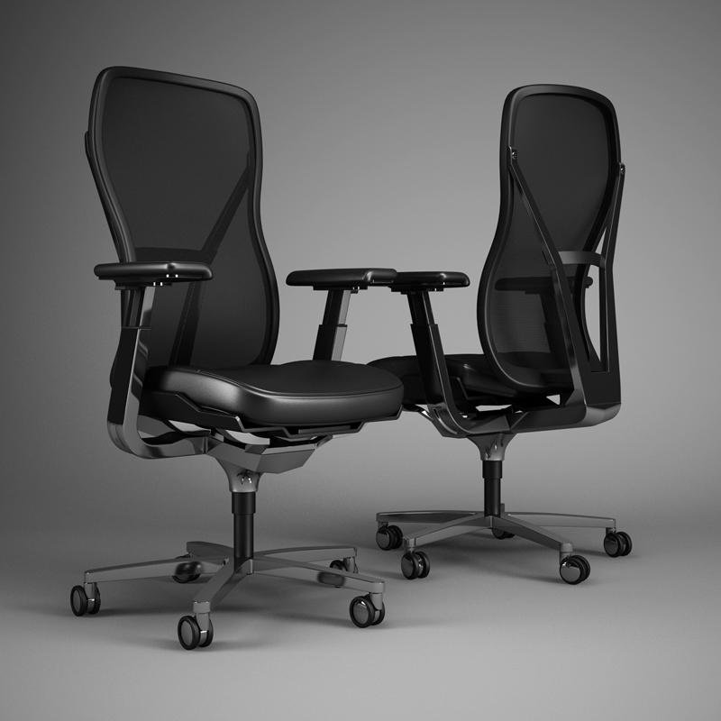 Office Chair 51 3d Model Max Obj Fbx C4d