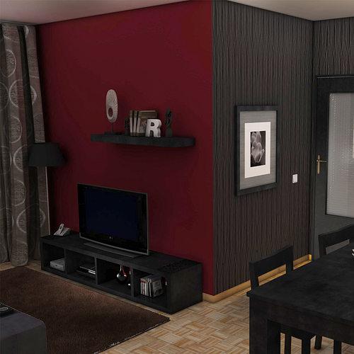 Interior fbx living room 3d cgtrader for Living models