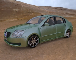Vandura Family Sedan for Poser 3D model