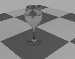 blender 3D glass