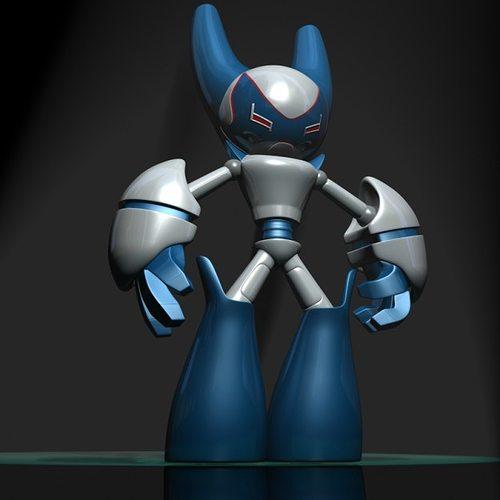 Cartoon Robot Toy : Robotboy cartoon robot character d model cgtrader