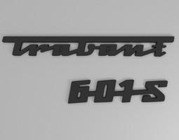 Trabant rear emblem 3D