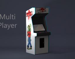 3D model Arcade Game Cabinet